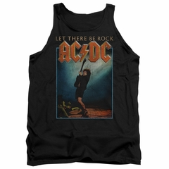ACDC Tank Top Let There Be Rock Black Tanktop