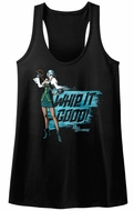 Ace Attorney Juniors Tank Top Whip It Good Black Racerback
