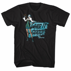 Ace Attorney Shirt Whip It Good Black T-Shirt