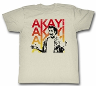 Ace Ventura Shirt Akayakay Adult Cream Tee T-Shirt