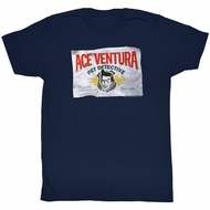 Ace Ventura Shirt Business Adult Navy Tee T-Shirt
