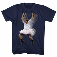 Ace Ventura Shirt Dance Navy Blue Tee T-Shirt