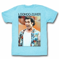 Ace Ventura Shirt Loohoo Zuher Adult Light Blue Tee T-Shirt