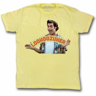 Ace Ventura Shirt Loser Adult Yellow Tee T-Shirt