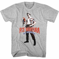 Ace Ventura Shirt Red Black Blue Ace Tee T-Shirt