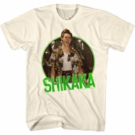 Ace Ventura Shirt Shikaka Cream Tee T-Shirt