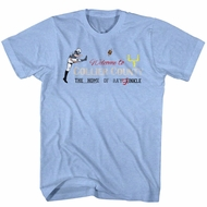Ace Ventura Shirt Stinkle 2 Light Blue Tee T-Shirt