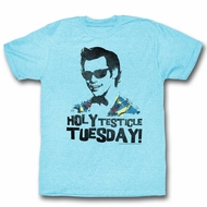 Ace Ventura Shirt Tuesday Adult Light Blue Tee T-Shirt