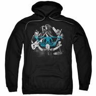 Aerosmith Hoodie Rock N Around Black Sweatshirt Hoody