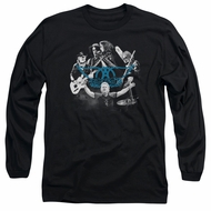 Aerosmith Shirt Rock N Around Long Sleeve Black Tee T-Shirt