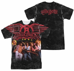 Aerosmith Stage Sublimation Shirt Front/Back Print