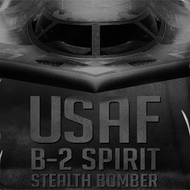 Air Force B2 Spirit Bomber Sublimation Shirts