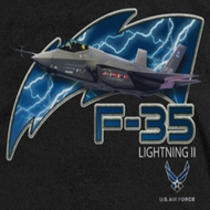 Air Force F35 Lightning II Shirts