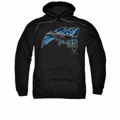 Air Force Hoodie F35 Lightning II Black Sweatshirt Hoody