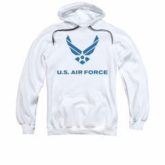 Air Force Hoodie Logo White Sweatshirt Hoody
