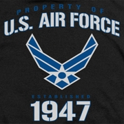 Air Force Property Of Shirts