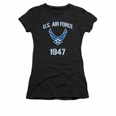 Air Force Shirt Juniors Property Of Black T-Shirt