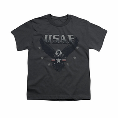 Air Force Shirt Kids Eagle Charcoal T-Shirt