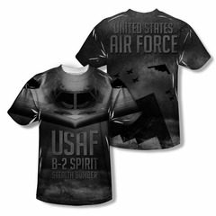 Air Force Shirt Pilot Sublimation Youth Shirt