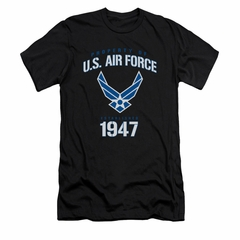 Air Force Shirt Slim Fit Property Of Black T-Shirt