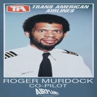 Airplane Movie Roger Murdock Shirts