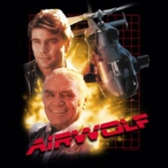 Airwolf Collage T-shirts