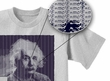 Albert Einstein Shirt Reality is Merely An Illusion Adult Grey T-shirt