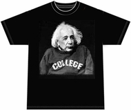 Albert Einstein Shirt Science College T-shirt