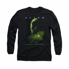 Alien Shirt From Within Long Sleeve Black Tee T-Shirt