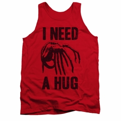 Alien Shirt Tank Top Need A Hug Red Tanktop