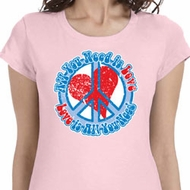 All You Need is Love Ladies Shirts