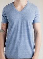 Alternative Apparel Boss Eco-Heather V-Neck