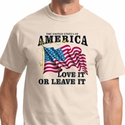 America Love It or Leave It Shirts