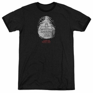 American Horror Story Its Everywhere Black Ringer Shirt