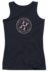 American Horror Story Juniors Tank Top Coven Serpent Sigil Black Tanktop