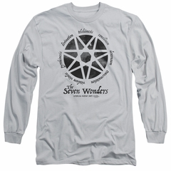 American Horror Story Long Sleeve Shirt Seven Wonders Silver Tee T-Shirt