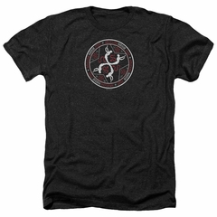 American Horror Story Shirt Coven Serpent Sigil Heather Black T-Shirt