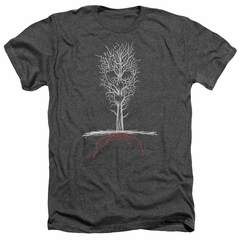 American Horror Story Shirt Scary Tree Heather Charcoal T-Shirt