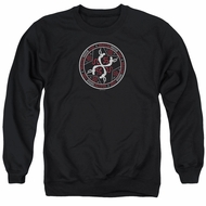 American Horror Story Sweatshirt Coven Serpent Sigil Adult Black Sweat Shirt