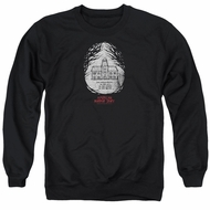 American Horror Story Sweatshirt Its Everywhere Adult Black Sweat Shirt