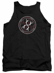 American Horror Story Tank Top Coven Serpent Sigil Black Tanktop