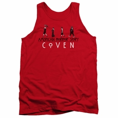 American Horror Story Tank Top Witch Parade Red Tanktop