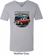American Made Dodge Dart Mens V-Neck Shirt