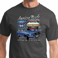 American Muscle 1967 Mustang Mens Ford Shirts