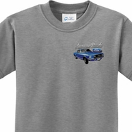 American Muscle 1967 Mustang Pocket Print Kids Ford Shirts