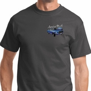 American Muscle 1967 Mustang Pocket Print Mens Ford Shirts