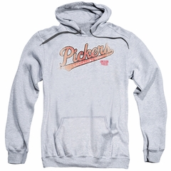 American Pickers Hoodie Distressed Logo Athletic Heather Sweatshirt Hoody