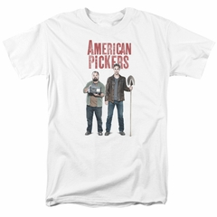 American Pickers Shirt Mike And Frank White T-Shirt