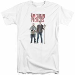 American Pickers Shirt Mike And Frank White Tall T-Shirt