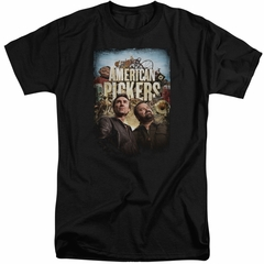 American Pickers Shirt Picker Poster Black Tall T-Shirt